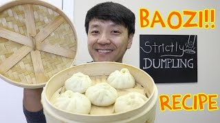 EASY DELICIOUS Chinese Pork Bun Recipe (Baozi 包子)