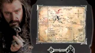 The Hobbit Replicas By The Noble Collection: Orcrist, Swords, Key To Erebor, Jewelry, Letter Opener