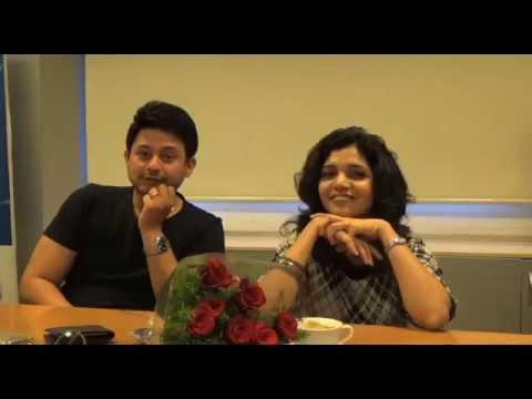 Swapnil Joshi, Mukta Barve & Satish Rajwade @ Sakal Times