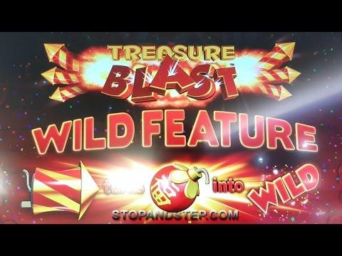 Treasure Blast New William Hill £500 Slot Machine - £30 Fortune Spins