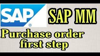 Sipariş İlk Adım | SAP MM | Basit İngilizce