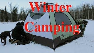 Winter Camping in Alaska