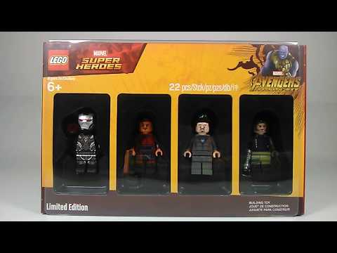Limited Edition Bricktober Lego Marvel Super Heroes Toys R Us Minifigure 4 Pack Review!