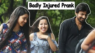Badly Injured Prank on Girls - Part #2 - Pranks In India | The HunGama Films