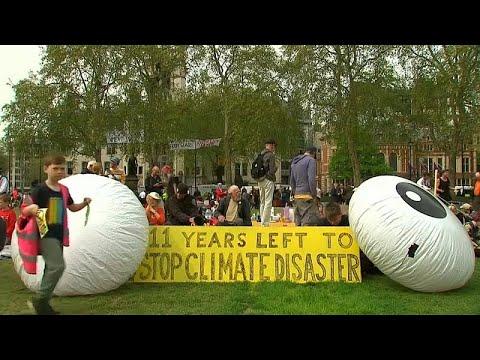 شاهد.. مظاهرات لليوم التاسع في لندن بسبب -المناخ-  - نشر قبل 1 ساعة