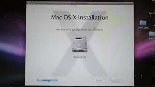 Installation - Max OS X Snow Leopard