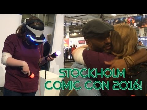 Fangirling, Forgetfulness and Fun times!   Stockholm Comic Con 2016