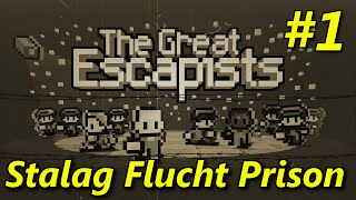 "The Escapists | S2E01 ""Stalag Flucht Prison Camp!"" 