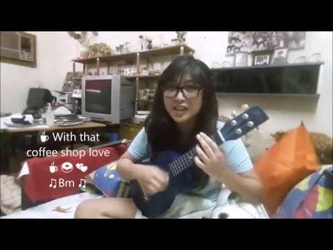 Coffee Shop Love (Ryan Higa ft. Golden) ☕ 🍰 💕 Ukulele Cover + tutorial by Hannahpam 👓 🎸 and Ha-p