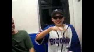 Adan Zapata en el metro 1