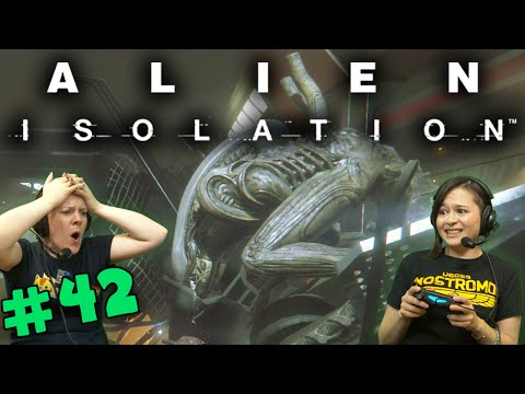 Alien Isolation - Ripley, Signing Off (#42) with Hannah & Kim!