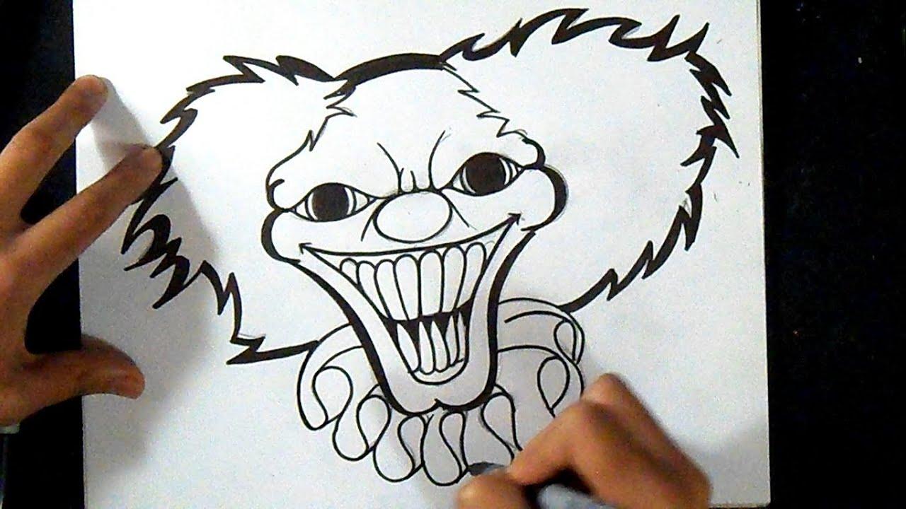 Comment Dessiner Clown