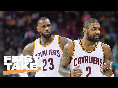 Stephen A. Smith Rejects Claims LeBron James, Kyrie Irving Met In Miami | First Take | ESPN
