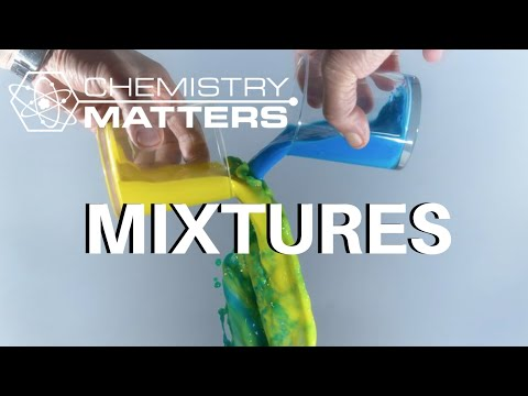 What Are Mixtures? | Chemistry Matters