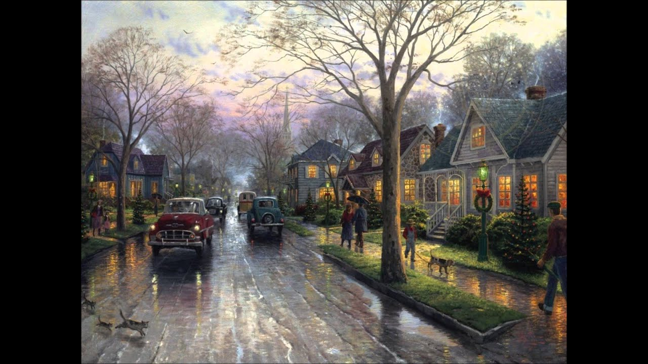 Merry Christmas - Thomas Kinkade Christmas Collection - YouTube