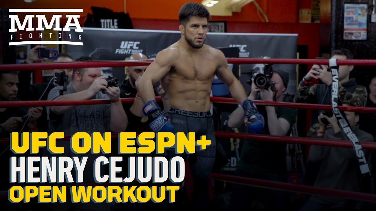 UFC Brooklyn: Henry Cejudo Open Workout Highlights - MMA Fighting