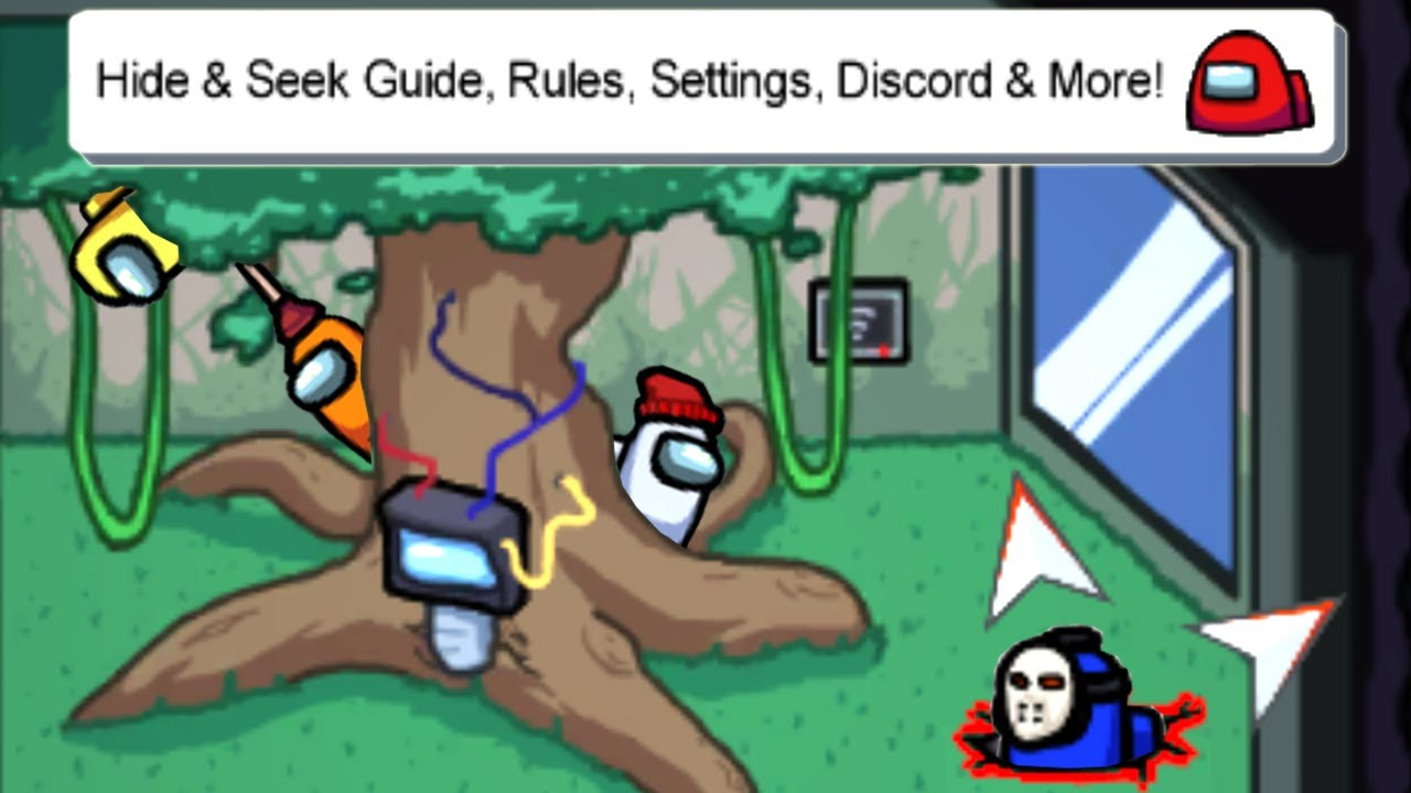 How To Play Hide And Seek Mode In Among Us Settings Rules Discord Best Spots Youtube