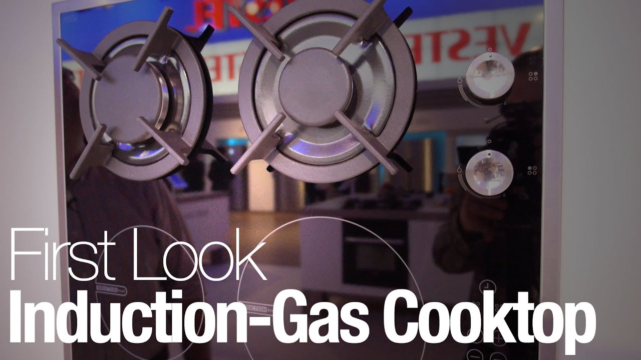 Hybrid Induction Cooktop This Hybrid Cooktop Lets You Cook With Gas Or Induction Youtube