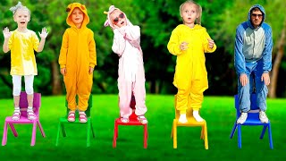 A Ram Sam Sam Song | Dance Kids Songs | Pretend Play with Elves by Vitalina life