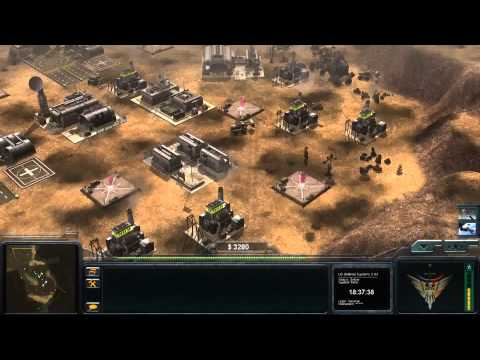 Command & Conquer Generals: Zero Hour Enhanced Mod - NATO Air Force General Gameplay