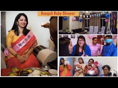 My Bengali Baby Shower Momcom India Vlogs Youtube