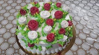 Тортик для моей новой доченьки Настеньки
