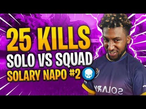 JE CARRY UN JOUEUR PRO SOLARY! 25 KILLS SOLO SQUAD FT MZQQQ