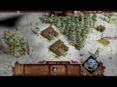 Age of Mythology -Tale of the Dragon GAMEPLAY Fu Xi(me) vs Isis(hard Ai)