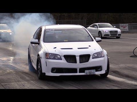 Fastest Pontiac G8 in the World, 8-Second TT Sedan is Rolling!