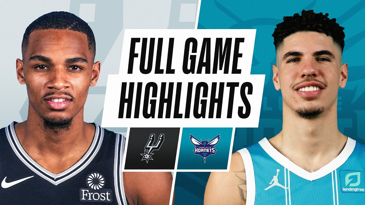 SPURS at HORNETS | FULL GAME HIGHLIGHTS | February 14, 2021