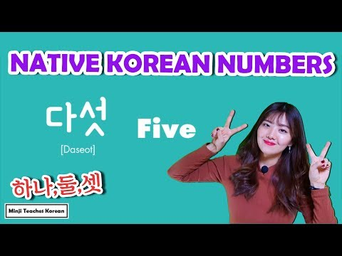 All about The Native Korean numbers (1~99) & Counters ㅣ How to Count Numbers in Korean
