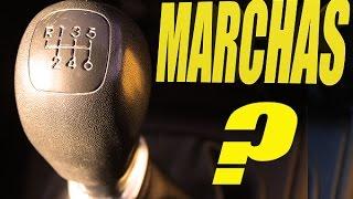 El manejo de las MARCHAS del coche. Utilización del EMBRAGUE y PALANCA DE CAMBIOS