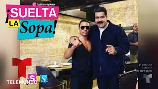 Nicolás Maduro genera polémica por degustar un costoso platillo | Suelta La Sopa | Entretenimiento