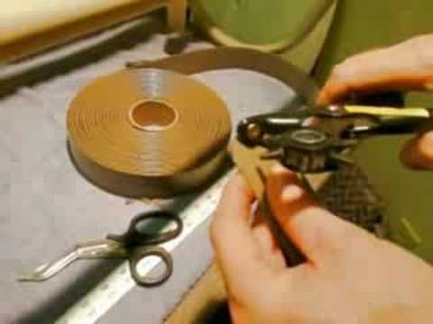 Double-wrap Vinyl Strap Installation