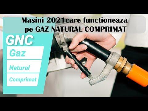 Masini pe gaz natural  2021  -GNC- Gazul  natural comprimat