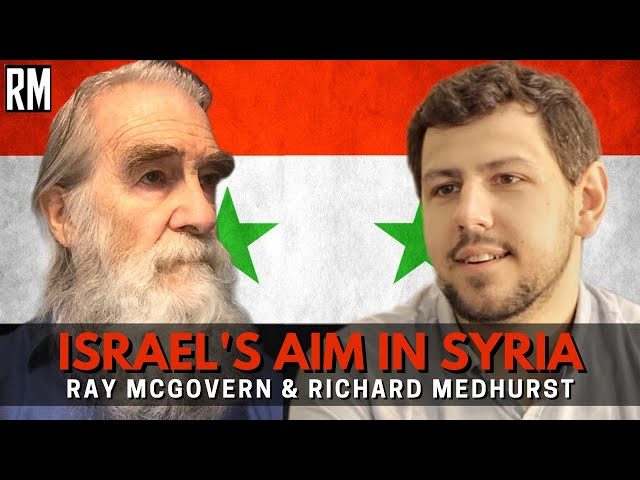 Israel's Aim In Syria | ft. Former CIA Officer Ray McGovern
