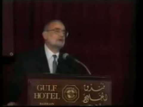 The Dialogue of Civilizations ( Dr. Badawi's Opening Statements - 1 of 3 )