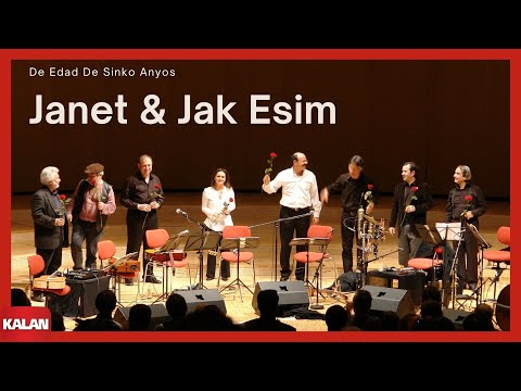 Janet & Jak Esim - De Edad De Sinko Anyos [ Adio © 2006 Kalan Müzik ]