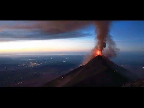Volcán de Fuego - Guatemala ▌CINEMATIC STYLE HD ▌