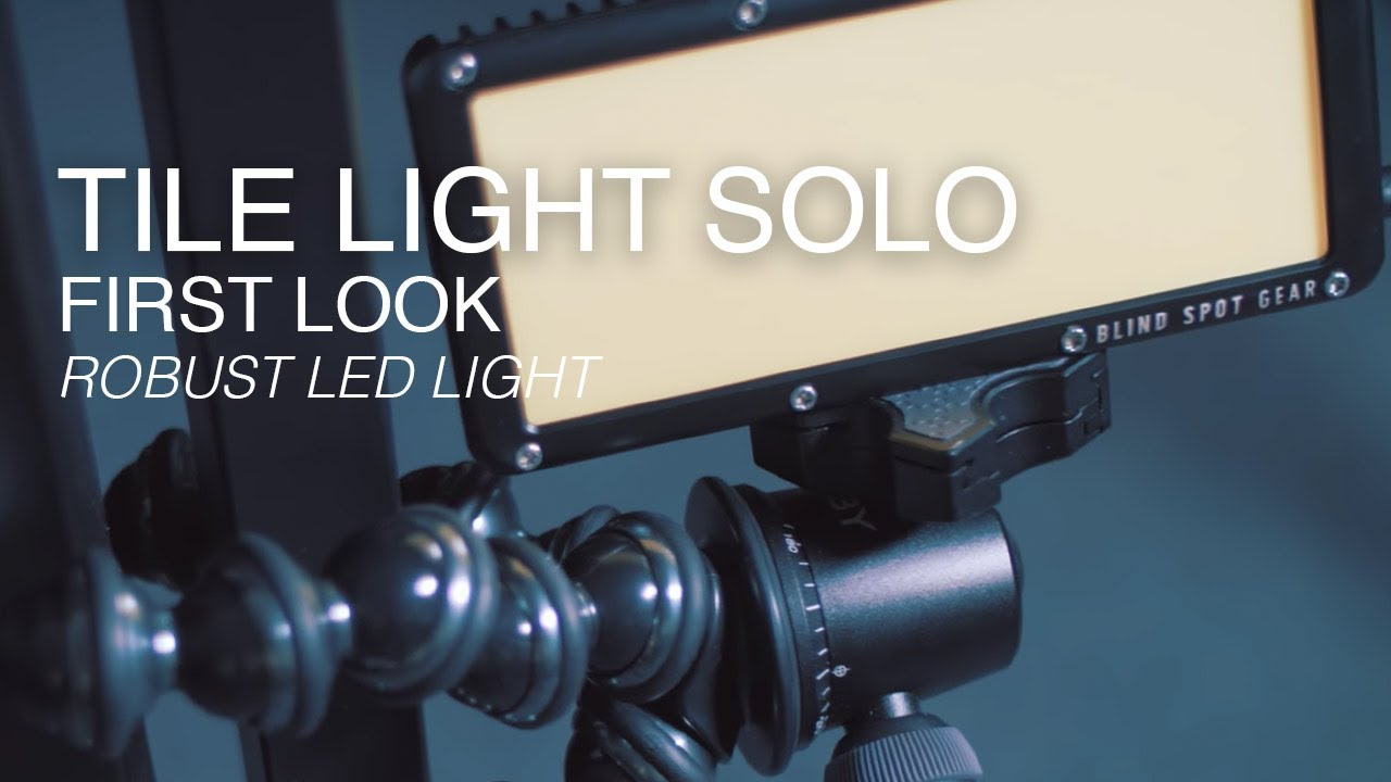 The Tile Light Solo | A Small and Soft LED Light for Video