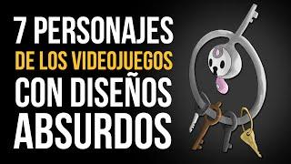 7 PERSONAJES de los videojuegos CON DISEÑOS ABSURDOS thumbnail