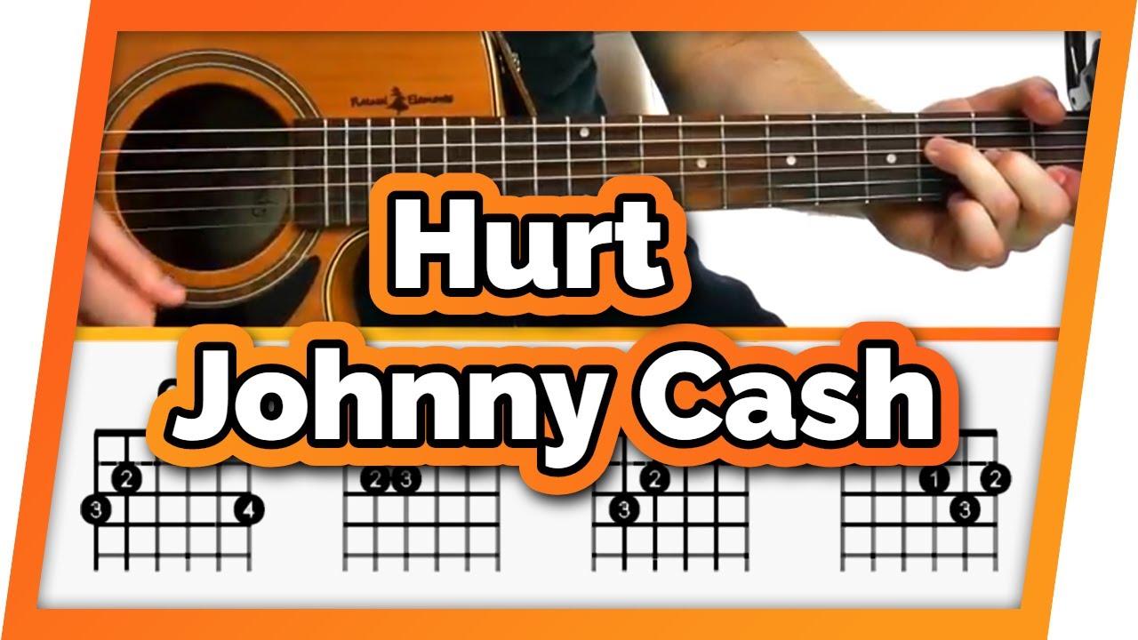 Hurt Guitar Tutorial Johnny Cash Easy Chords Guitar Lesson
