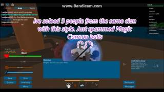 Roblox - Arcane Adventures: How to get the Cannon Fist fighting style!