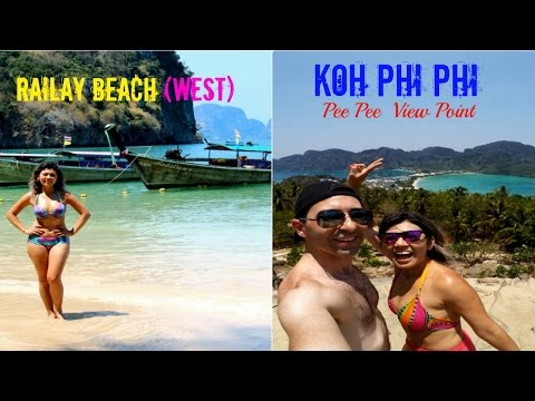 Last day in Koh Phi Phi - View Point + Railay Beach, Phra Na