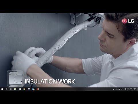 LG Air Conditioner : Smart Inverter Installation_Quick & Easy Installation