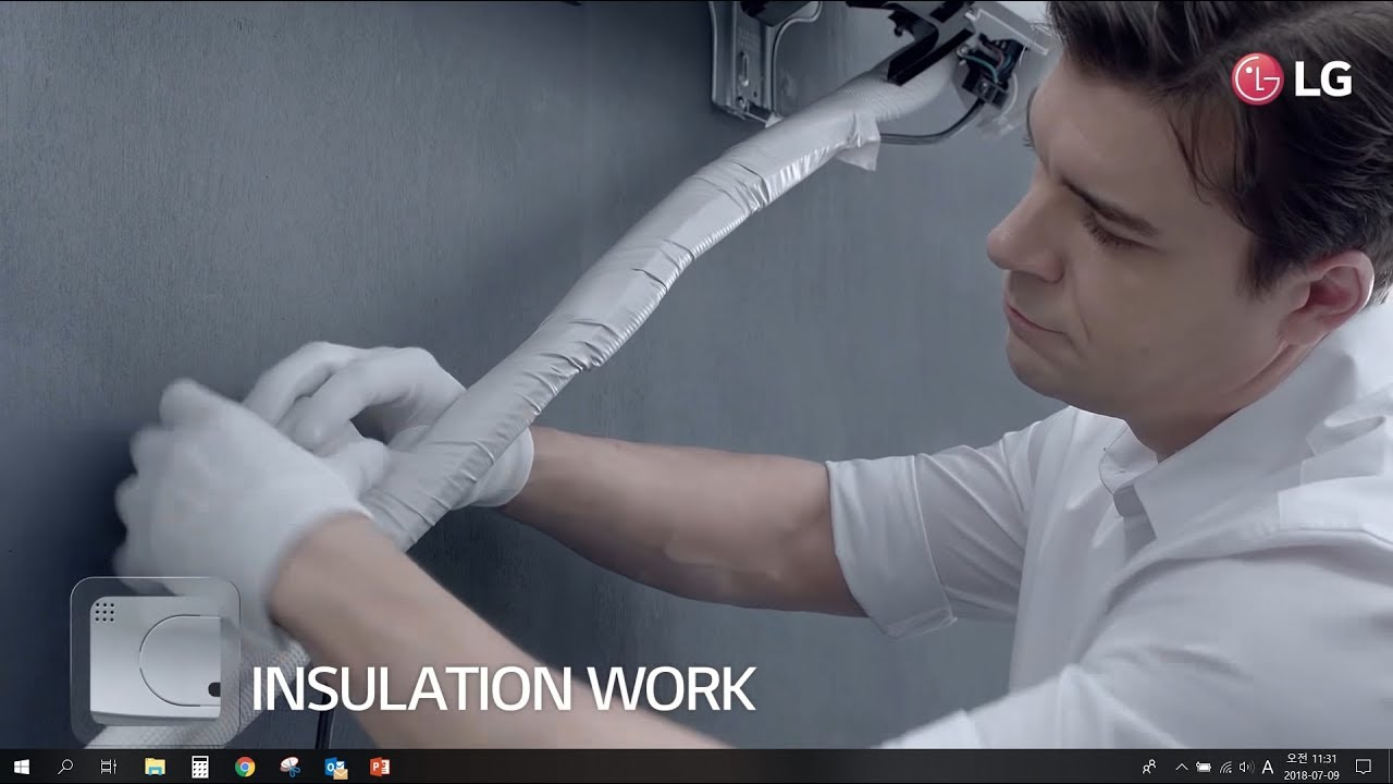 hight resolution of lg air conditioner smart inverter installation quick easy installation
