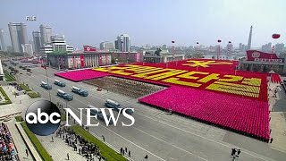North Korea celebrates its 70th anniversary with its massive military parade