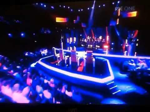 """Dublin Gospel Choir (feat. Brian Kennedy!) on """"The Voice Of Ireland""""."""