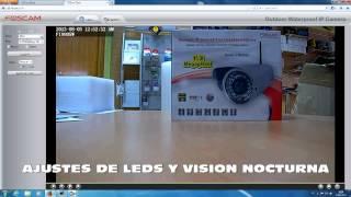 Cámara IP Foscam FI9805W 1.3mpx para uso exterior
