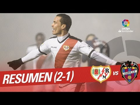 Resumen de Rayo Vallecano vs Levante UD (2-1)
